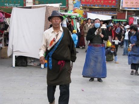 Tybet - Lhasa - Festiwal Saga Dawa 2