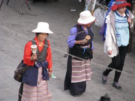 Tybet - Lhasa - Festiwal Saga Dawa 6