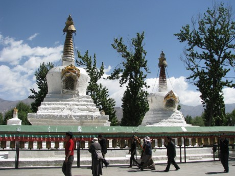Tybet - Lhasa - Festiwal Saga Dawa 13