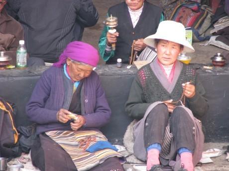 Tybet - Lhasa - Festiwal Saga Dawa 16