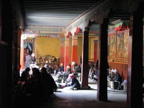 Tybet - Lhasa - Festiwal Saga Dawa 18