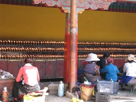 Tybet - Lhasa - Festiwal Saga Dawa 19