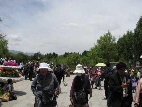 Tybet - Lhasa - Festiwal Saga Dawa 21