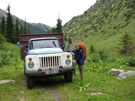 Treking wgórach Tien Shan (Kirgistan) 5