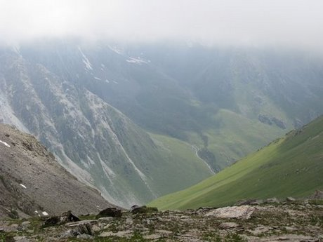 Treking wgórach Tien Shan (Kirgistan) 19