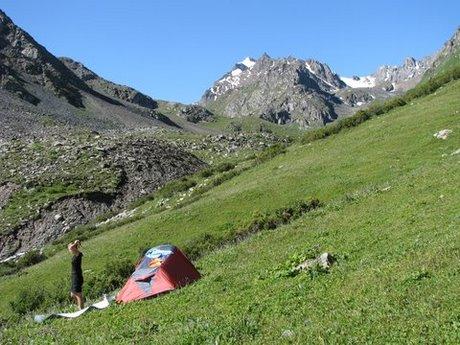 Treking wgórach Tien Shan (Kirgistan) 26