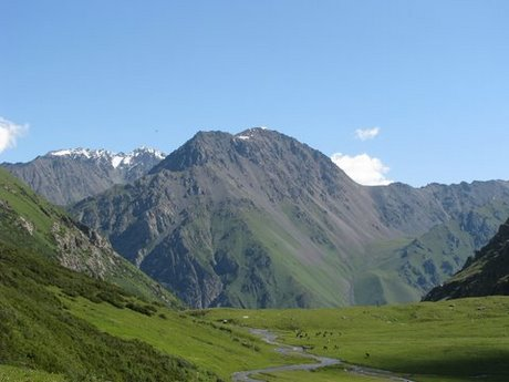 Treking wgórach Tien Shan (Kirgistan) 29