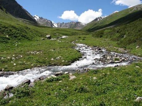 Treking wgórach Tien Shan (Kirgistan) 31