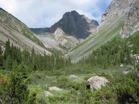 Treking wgórach Tien Shan (Kirgistan) 33