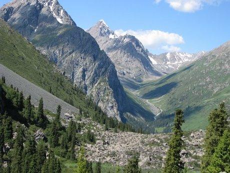 Treking wgórach Tien Shan (Kirgistan) 38