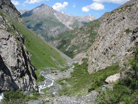 Treking wgórach Tien Shan (Kirgistan) 40