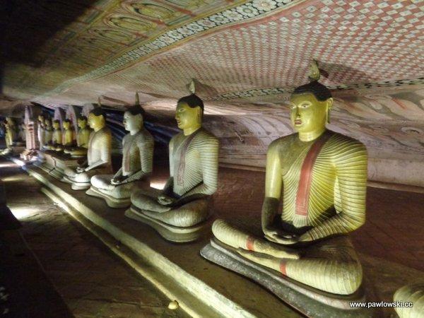 Złota świątynia Dambulla; Sri Lanka 8