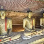 Złota świątynia Dambulla; Sri Lanka 1