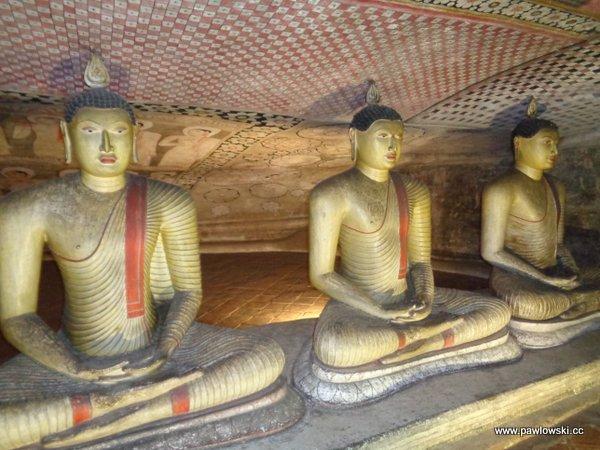 Złota świątynia Dambulla; Sri Lanka 7