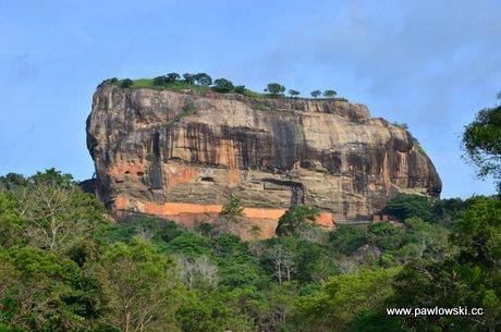 Sigirija czyli Lwia Skała na Sri Lance 1
