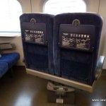 Fotele wpociągu
