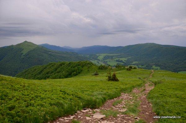 Ustrzyki Górne - Tarnica - Wołosate 8