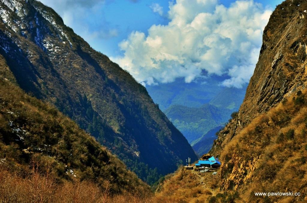 W drodze pod Annapurnę