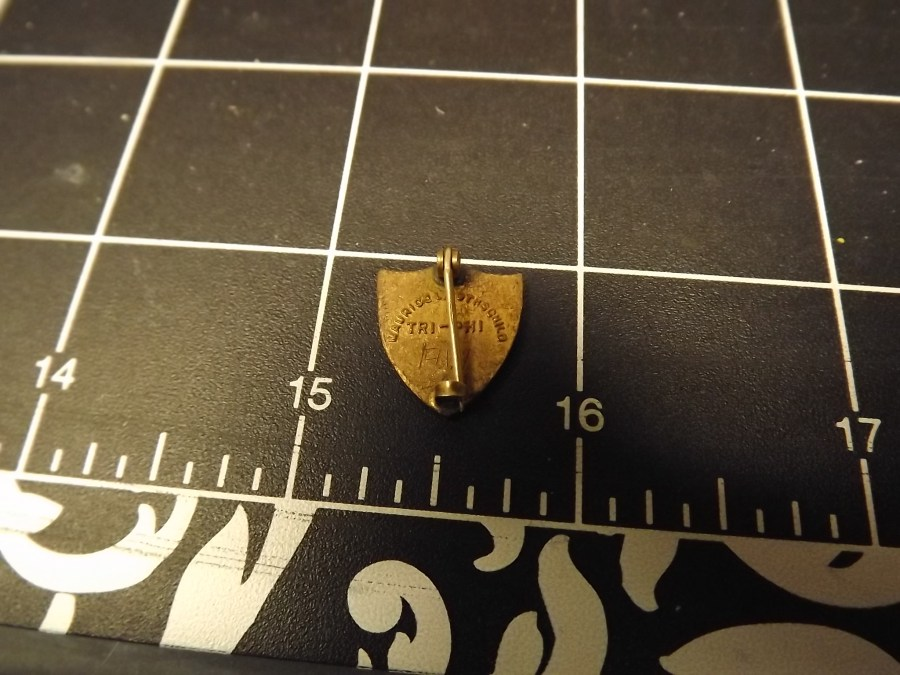 Antique Lapel Pin Made by Maurice Rothschild TRI-PHI Sorority PIN 2