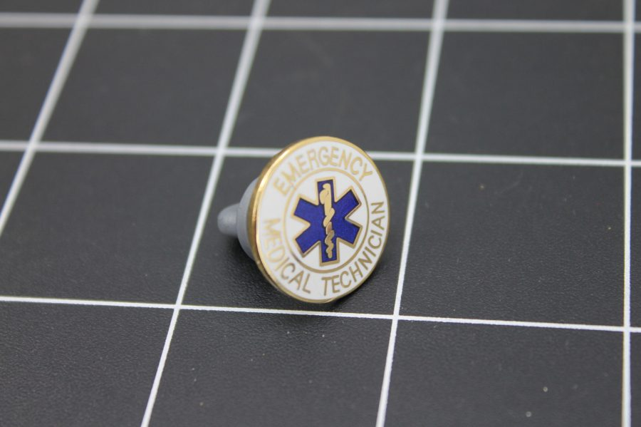 Brand-New EMERGENCY MEDICAL TECHNICIAN Enameled Lapel Pin Lifetime Guarantee 2
