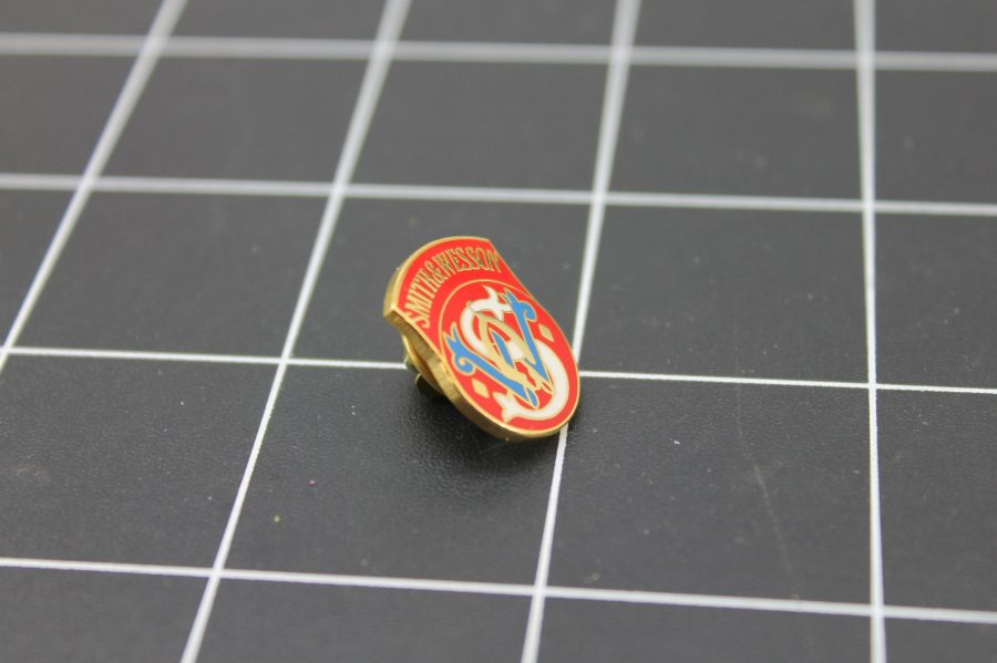 Brand New Lapel Pin SMITH & WESSON LIFETIME GUARANTEE ENAMELED 2