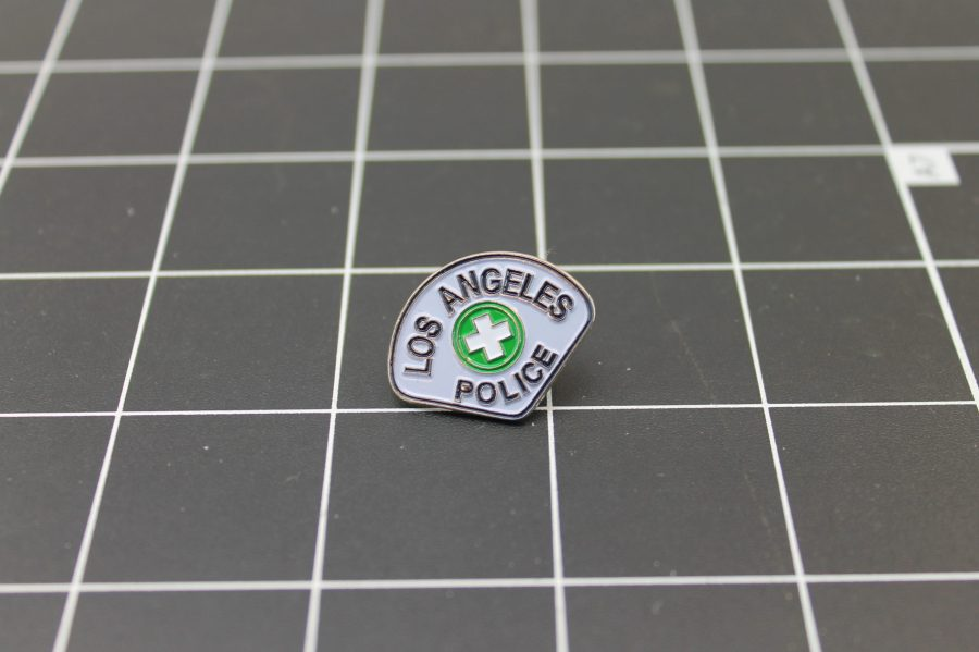Brand-New Policeman LOS ANGELES POLICE DEPARTMENT  Enameled Lapel Pin Lifetime Guarantee 1