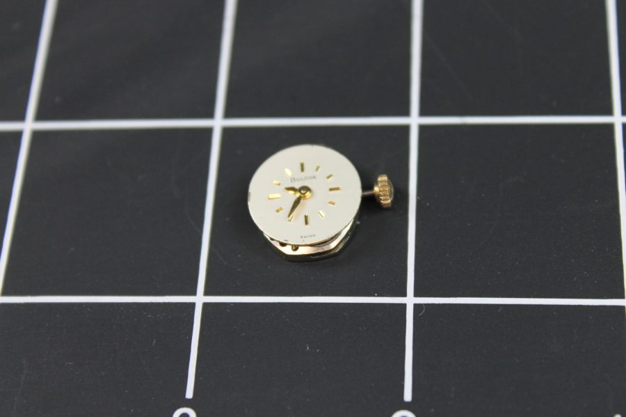 WATCH MOVEMENTS FOR PARTS  SWISS BULOVA 5AN WILL NOT TAKE A WIND 1