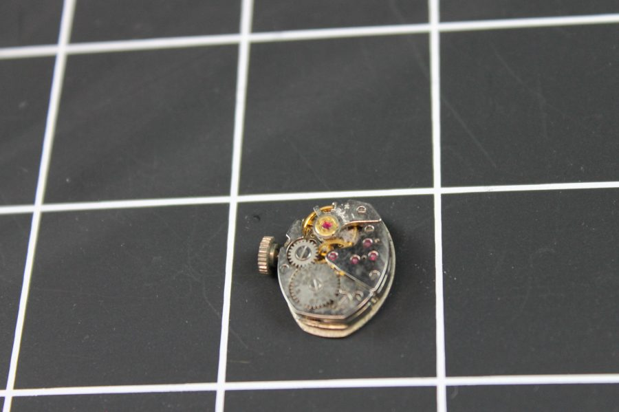 WATCH MOVEMENTS FOR PARTS  ELGIN 911 USA 17J  WILL NOT WIND 2