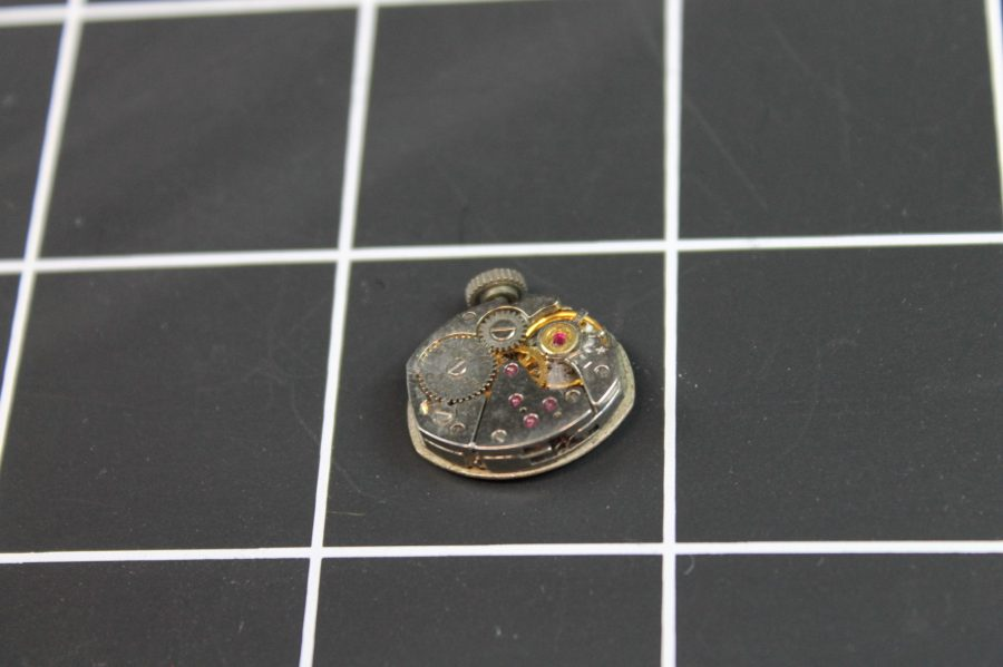 WATCH MOVEMENTS FOR PARTS  ELGIN 911 USA 17J  WILL NOT WIND 3