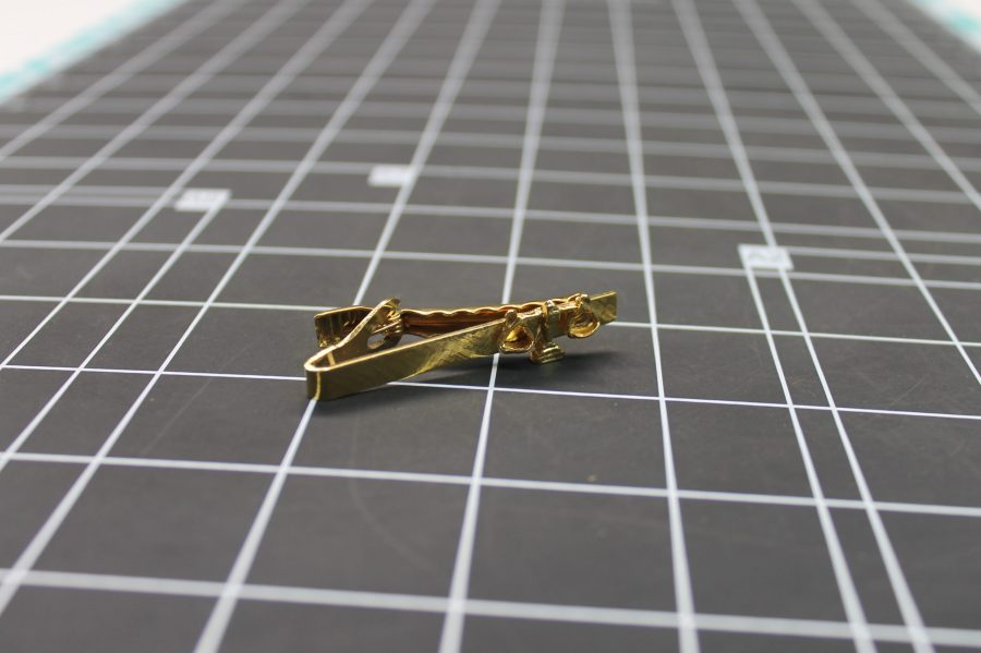 ANTIQUE VINTAGE SHRINERS BILLIKEN TIE CLIP 1