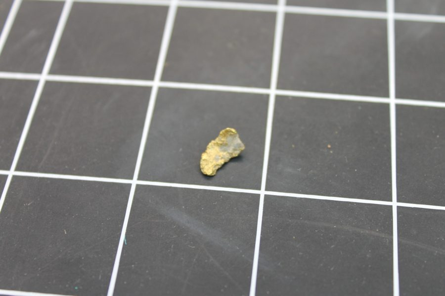 NATURAL MINED PLACER GOLD NUGGET 0.4 GRAMS 1