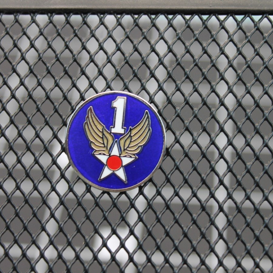 """BRAND NEW Lapel Pin USAF UNITED STATES AIR FORCE 101 FIRST Blue Enamel 1"""" 1"""