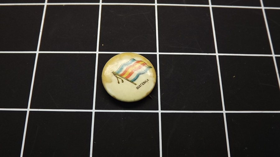 VINTAGE SWEET CORPORAL CIGARETTE GUATEMALA LAPEL PIN BUTTON  Copy 2