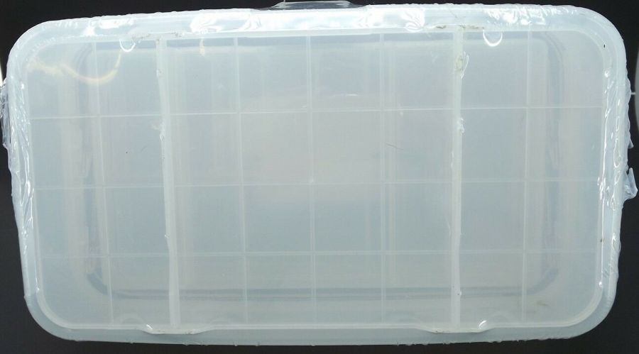 New Transparent Plastic Tool Box & Removable Inner Tray 4