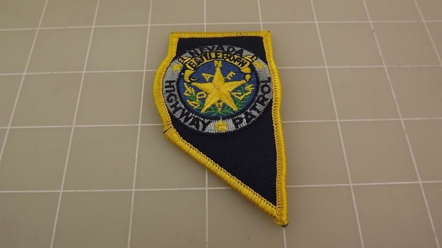 BRAND NEW NEVADA HIGHWAY PATROL Iron On Patch 1