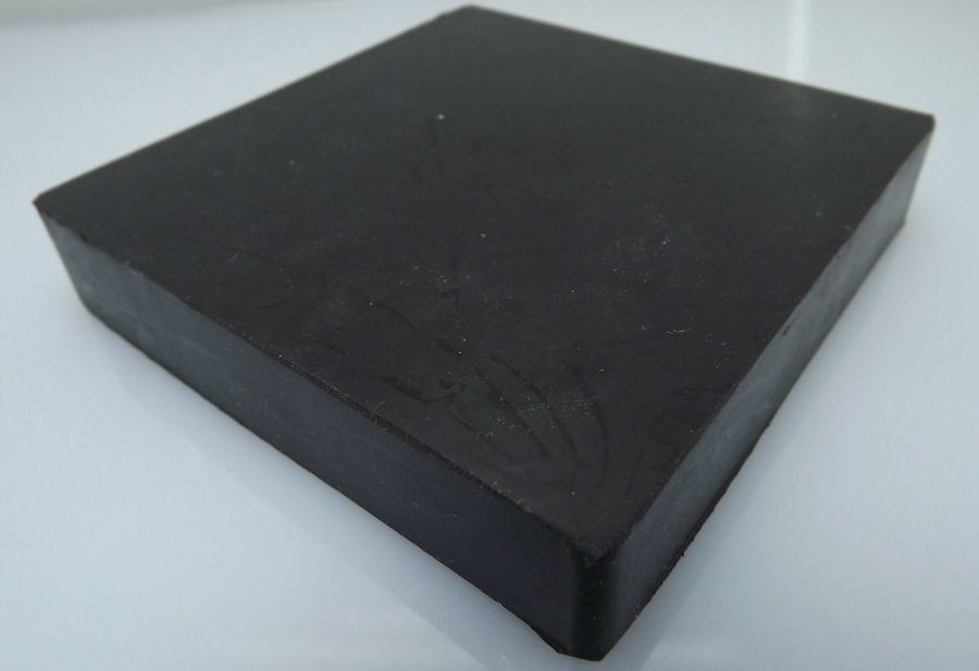 """New Jewelers Rubber Bench Block Forming 4"""" X 4"""" X 3/4'' Goldsmith Silversmith 4"""