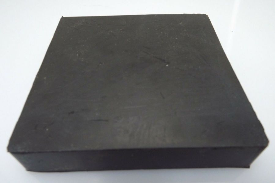 """New Jewelers Rubber Bench Block Forming 4"""" X 4"""" X 3/4'' Goldsmith Silversmith 1"""