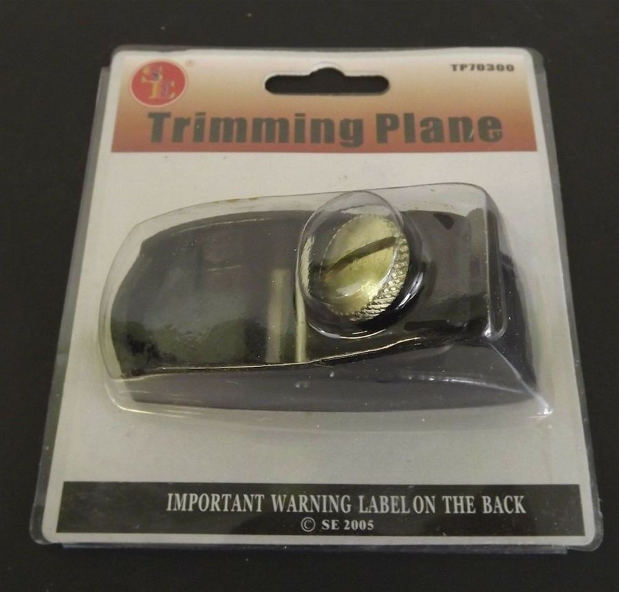 New Wood working Tool Trimming Plane With Heavy Duty 1'' Blade 1