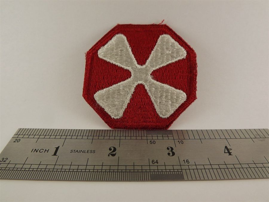 UNITED STATES ARMY 8th Army Iron on Patch BRAND NEW 3