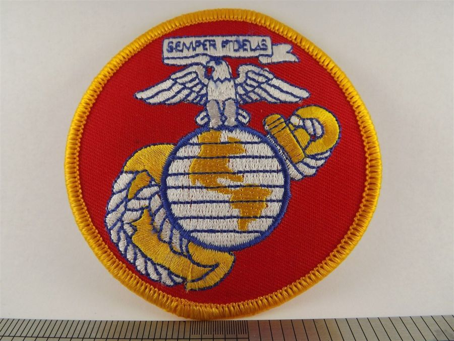 USMC United States Marines Iron on Patch Brand New Logo Anchor Globe Eagle 1