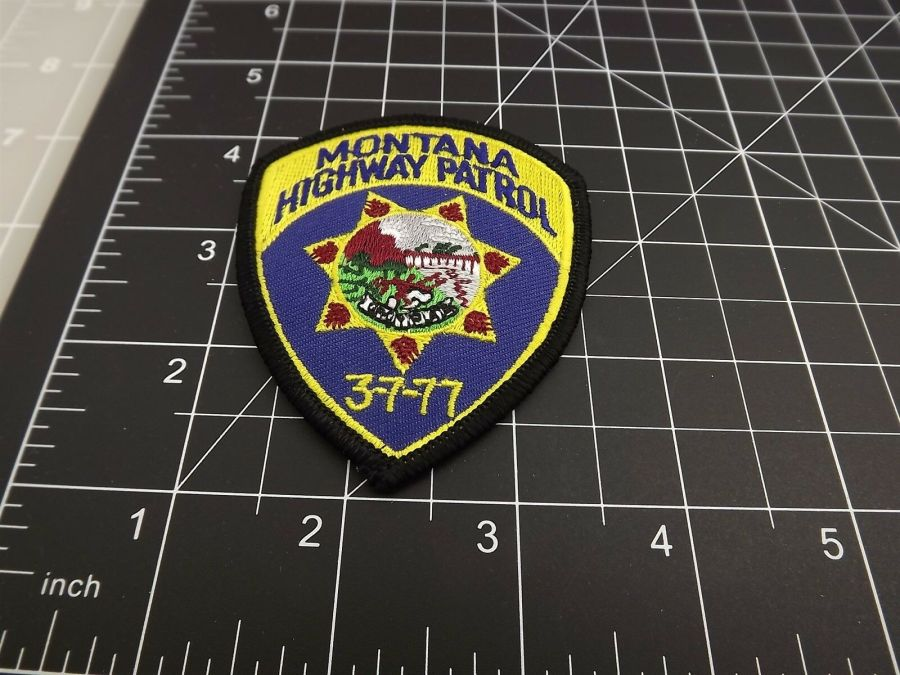 MONTANA HIGHWAY PATROL POLICE PATCH BRAND NEW 3