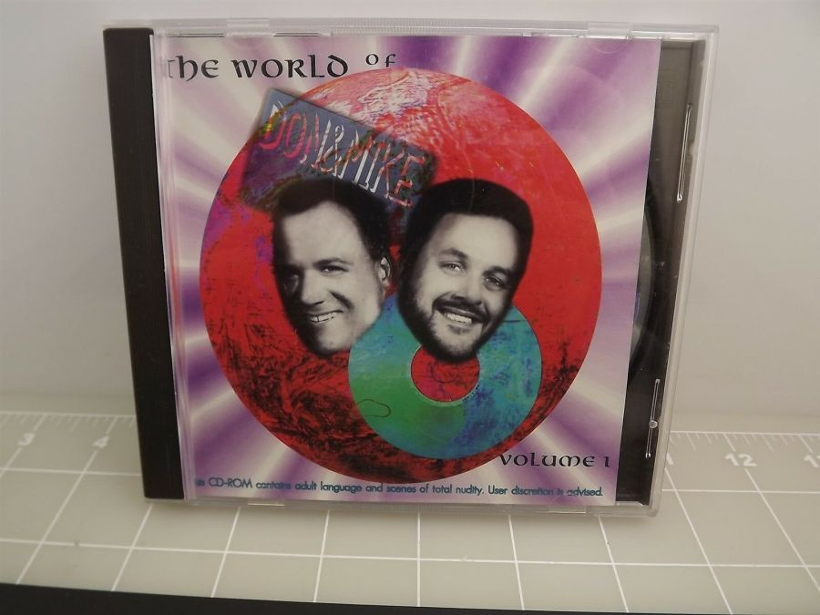 the world of don & mike volume 1 Compact Disc Game Never used CD-ROM 1