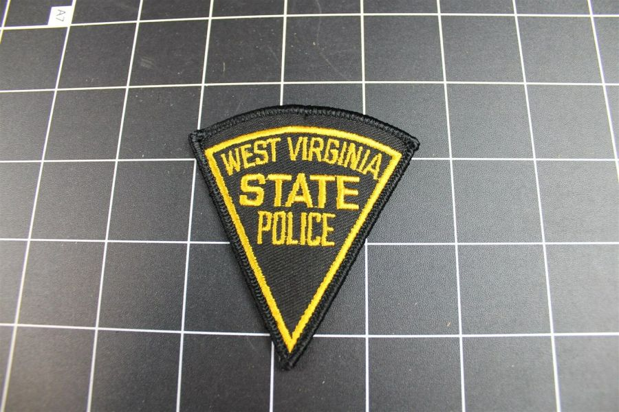 """""""WEST VIRGINIA"""" STATE POLICE PATCH BRAND NEW 3"""