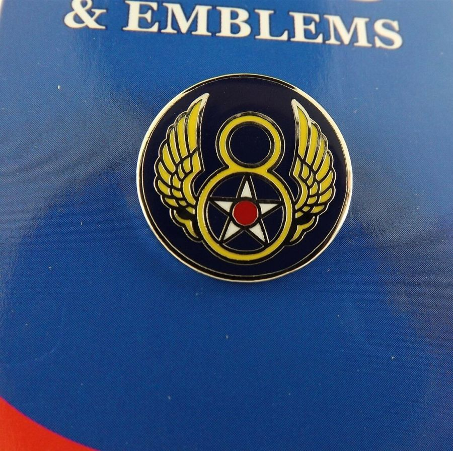 "BRAND NEW Lapel Pin United States Air Force 008TH Enamel 3/4"" 1"