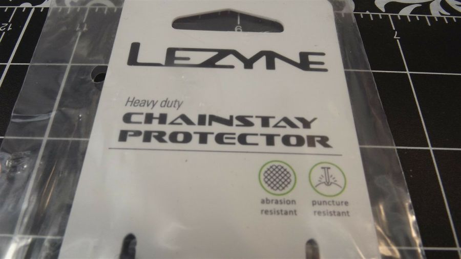 BRAND NEW Lezyne Smart Chainstay Protector SMALL 95mm X 250mm BLACK 5