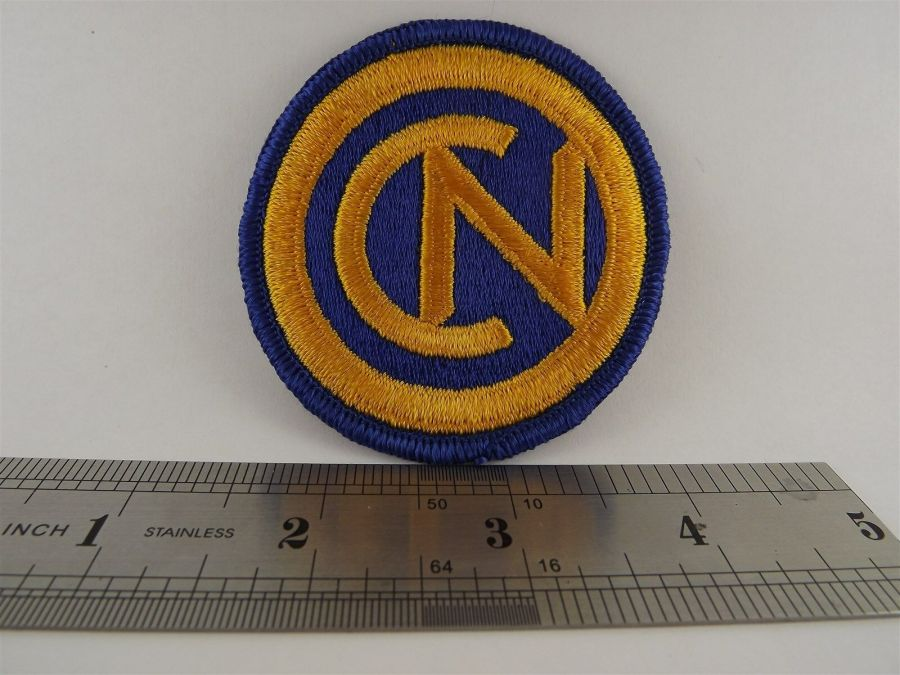 """CN"" Iron on Patch BRAND NEW 3"