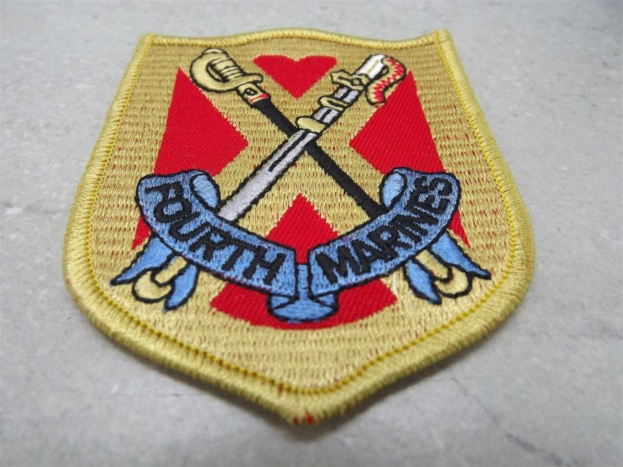 US MARINE CORPS FOURTH DIVISION MARINE REGIMENT PATCH BRAND NEW 1