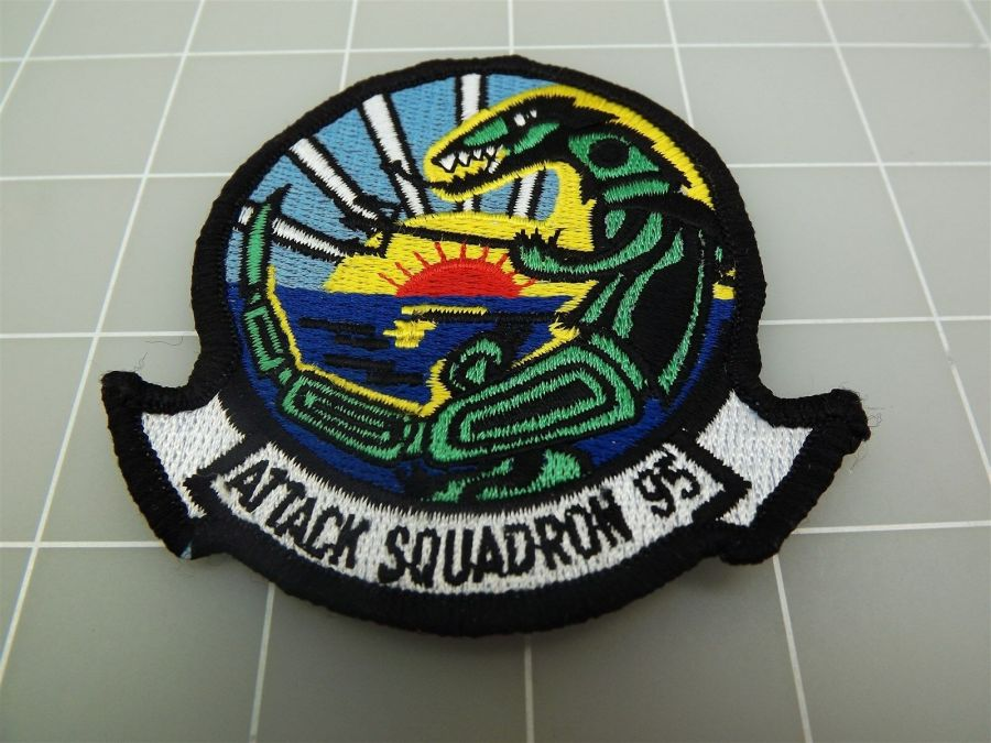 "BRAND NEW U.S. NAVY USN ATTACK SQUADRON 95 Patch 3 3/8"" 2"
