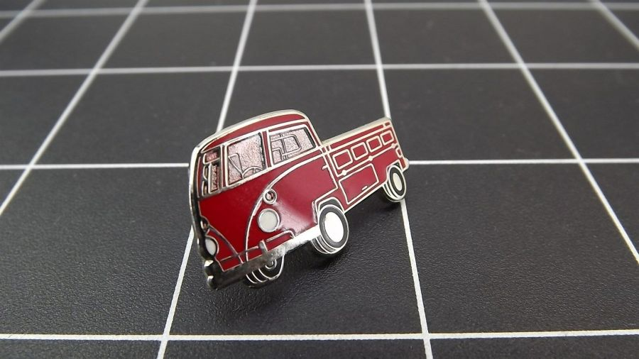 "BRAND NEW Lapel Pin VW VOLKSWAGEN ""TRANSPORT"" ENAMELED LIFETIME GUARANTEE 3"