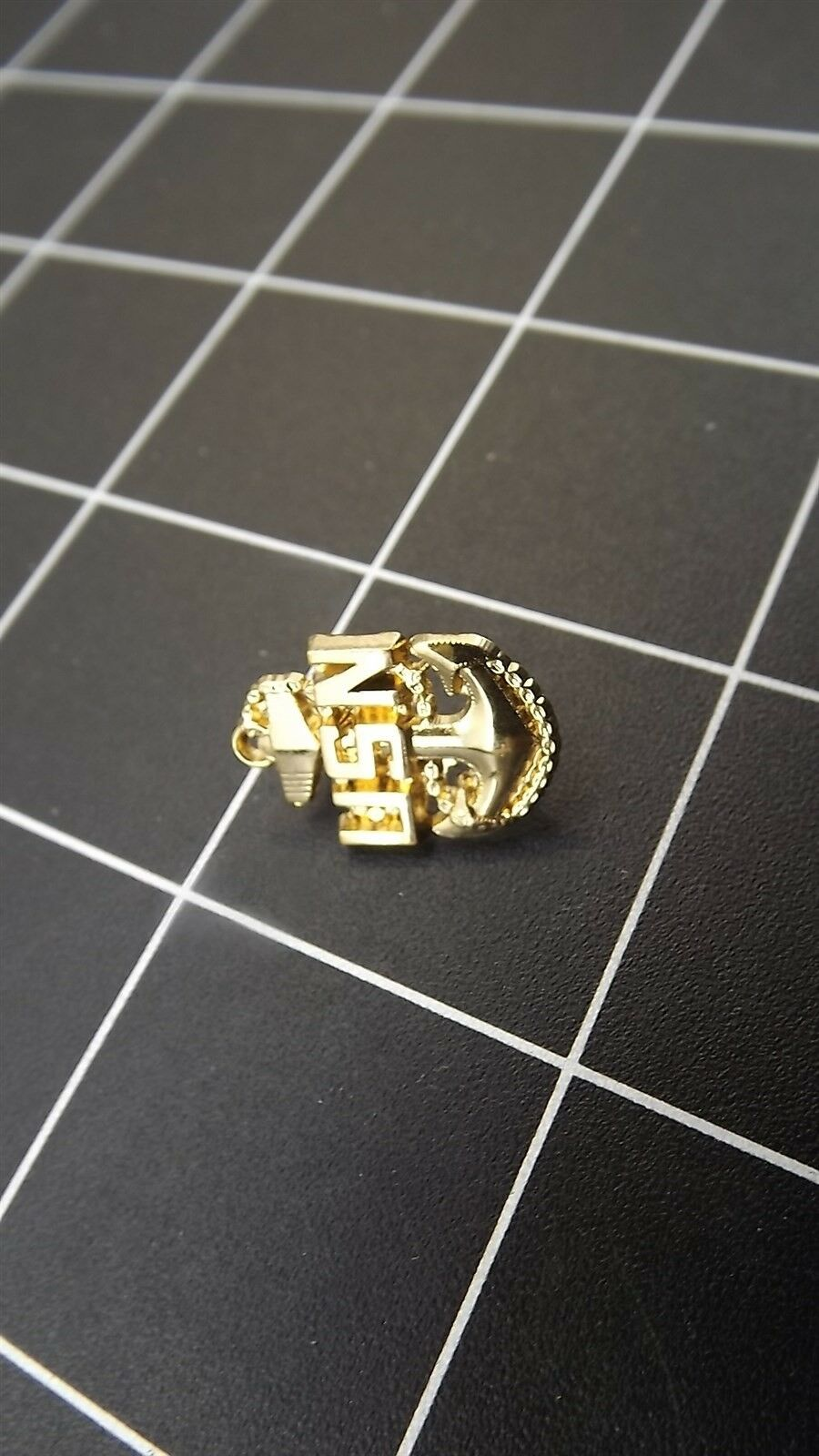 """Lapel pin NEW Badge USN Navy Chief Petty Officer 3/4"""" brand new anchor 5"""